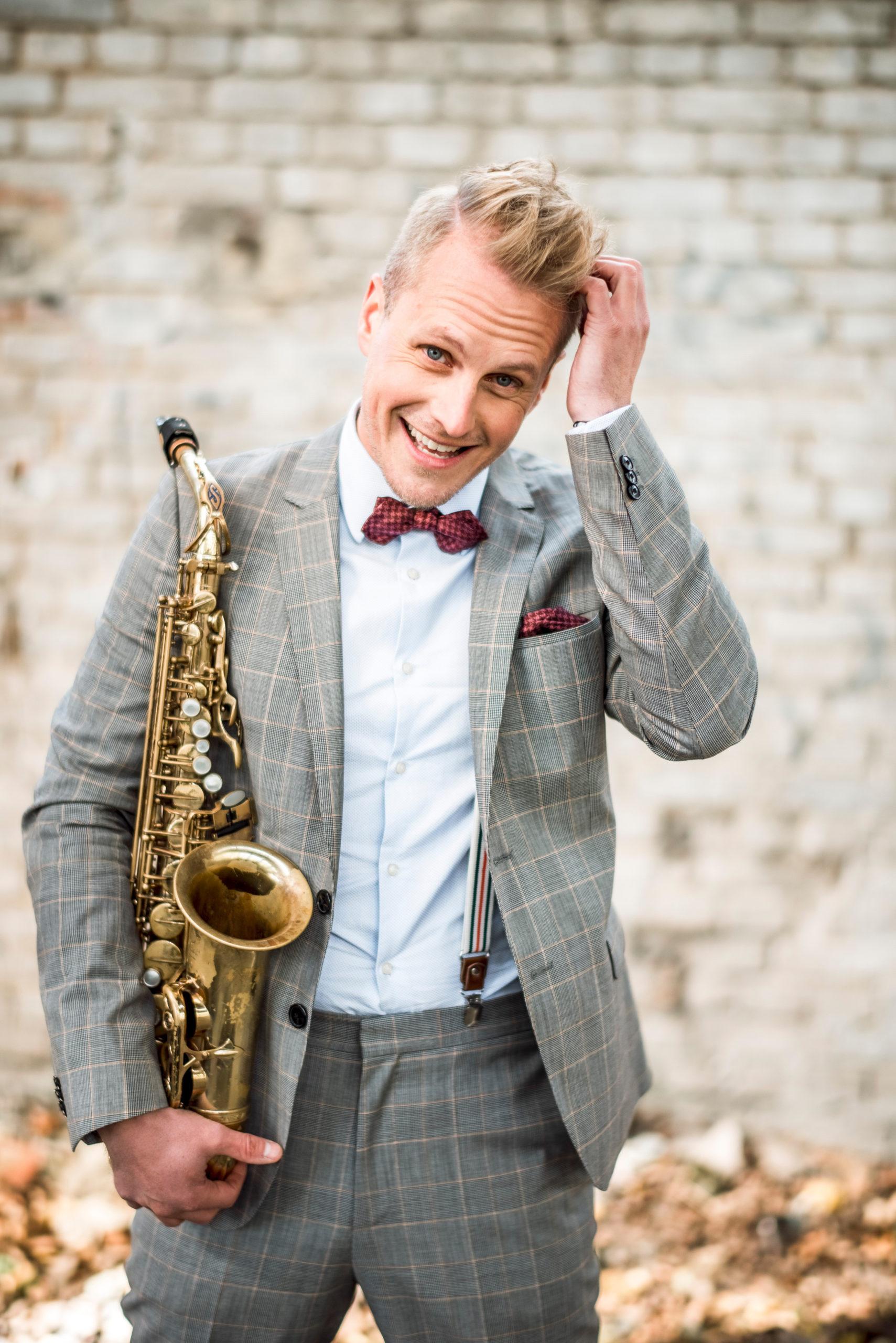 Livemusiker in Leipzig und Dresden: Saxophonist Philipp Schoof
