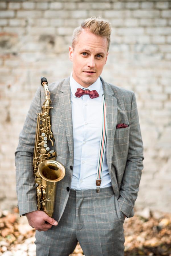 Saxophonisten in Leipzig buchen: Saxophon pur!