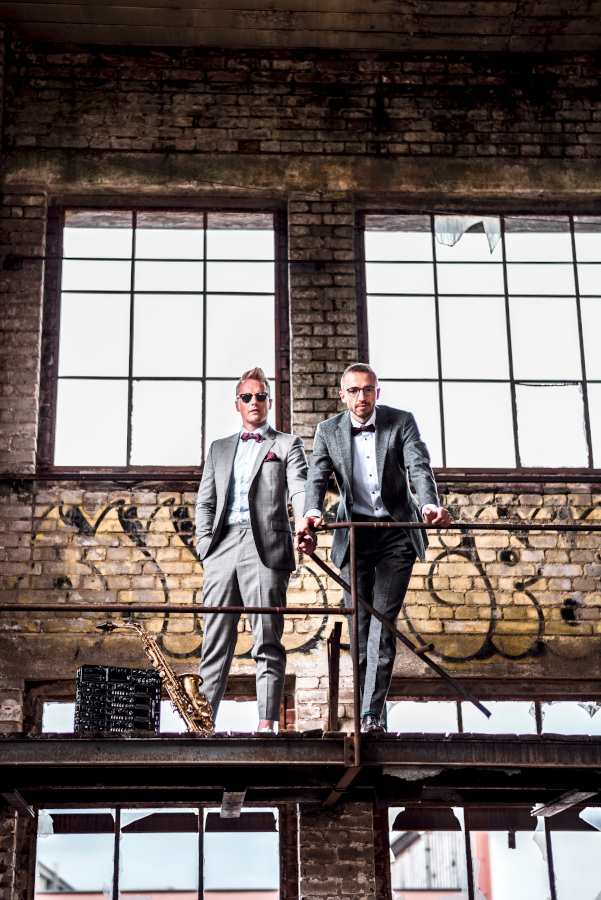 DJ und Saxophonist in Dresden: Kenduro&Schoof